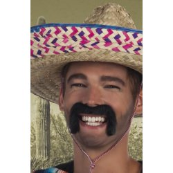 Moustaches postiches Mexicain