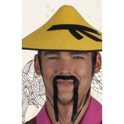 Moustaches postiches chinois