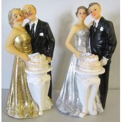 couples mariés, noces d'or et argent