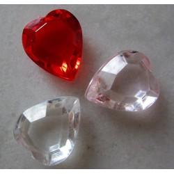Mini diamants coeurs