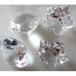 Beaux diamants et étoiles