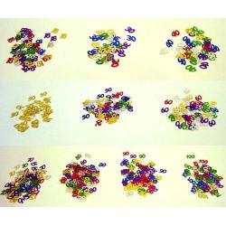 Confettis de table Chiffres