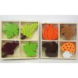Kit déco automne et raisin