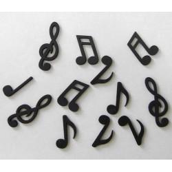 Confettis de table notes de musique