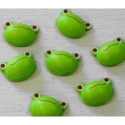 Têtes de grenouille autocollantes