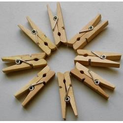 Pinces à linge 3,5 cm