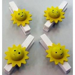 Pinces soleil déco