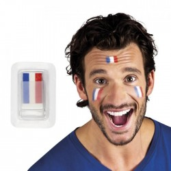 Maquillage tricolore n°1