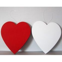 Coeurs mousse 20 cm
