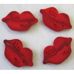 Bouches rouges st valentin