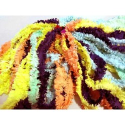 Colliers hawaïen en papier crépon