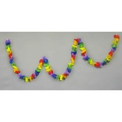 Guirlande de fleurs hawaïennes