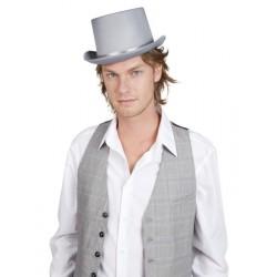 Chapeau de cérémonie gris