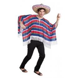 Déguisement poncho mexicain