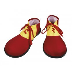 Chaussures de clown rigides