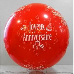 Ballons géants imprimés anniversaire