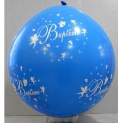 Ballons géants imprimés baptême