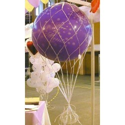 Filet Mongolfière pour ballon géant