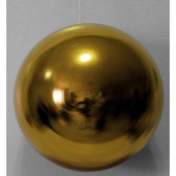 Boules de noël géantes or 20 cm