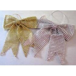 Noeuds diamant pour décoration sapin