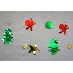Guirlande de Noël métallisée