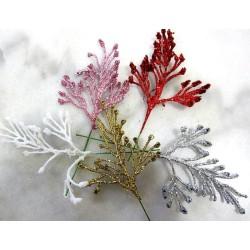 Petites feuilles glitter