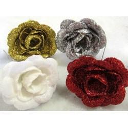 Roses glitter