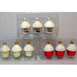 Cup-Cakes de Noël marque-place