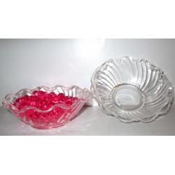 Coupelles en plastique incassable