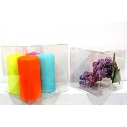 Boîtes carrées transparentes