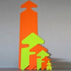 Flèches de signalisation et prix