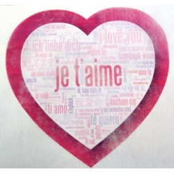 Chemins de table saint valentin n°1