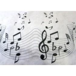 Chemins de table musique