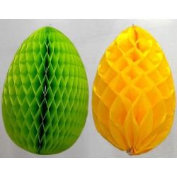Oeufs de pâques alvéolés 26 ou 46 cm