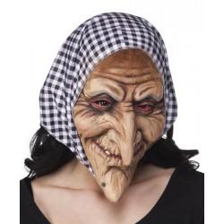 Masque sorcière en latex n°1