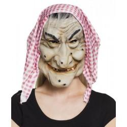 Masque sorcière en latex n°2