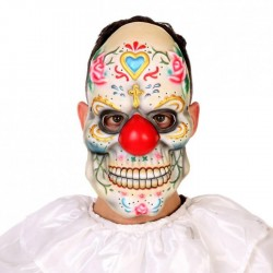 Masque clown sanglant