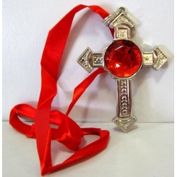 Collier croix halloween n°1