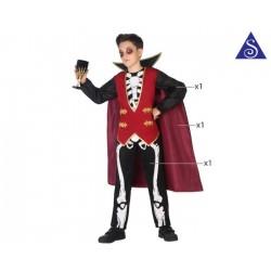 Squelette luxe garçon 10-12 ans