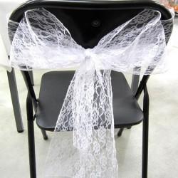 Ruban de chaise dentelle