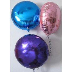 Ballons alu ronds n°2 -5 COULEURS DISPO