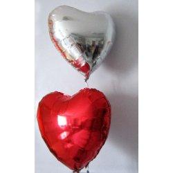 Ballons alu coeur n°1