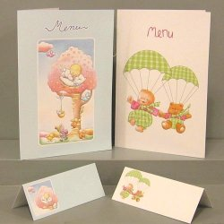 Menus ou cartes de table n°4