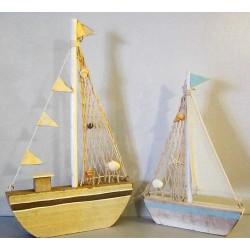 Grands bateaux en bois