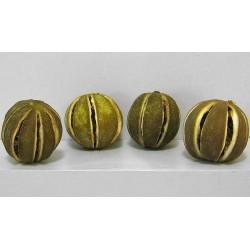 Orangettes vertes décoration