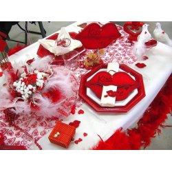 Déco table Saint Valentin n°2