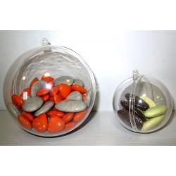 Boules plexi transparentes
