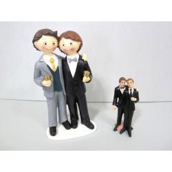Couple de Mariés Garçons