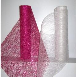 Chemins de table glitter fushia ou irisé