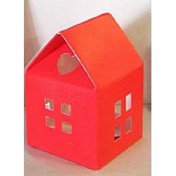 Petites maisons rouges